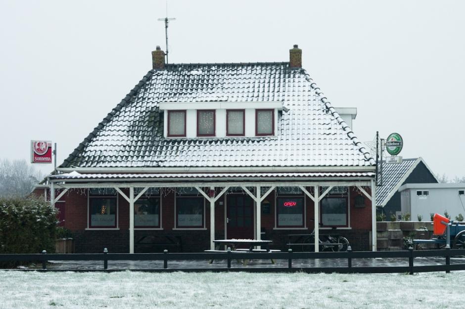 café it jachtfjild bij ijzel door jeffrey wakanno in fryslan ( friesland )