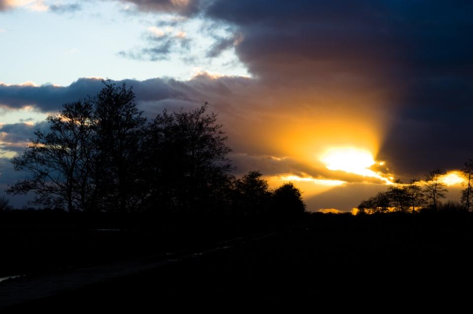 sun set by Jeffrey Wakanno wakenco fotografie in friesland nederland