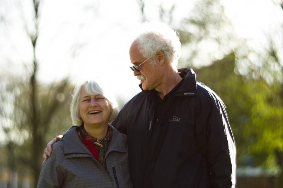 vijf en dertig jaar getrouwd en nog steeds gelukkig met elkaar